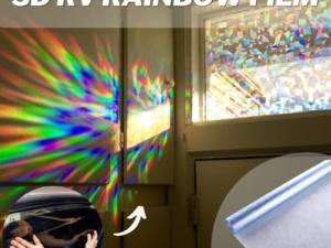 [PROMO 30% OFF] 3D RV Rainbow Film