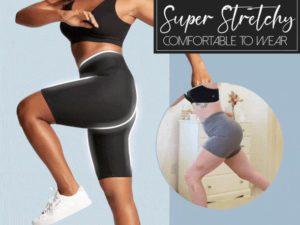 Ice Silk Waist Shaping Workout Shorts