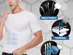SecondSkin™ Men's Shaper Cooling T-Shirt