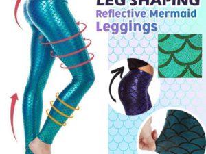 LEG SHAPING REFLECTIVE MERMAID LEGGINGS