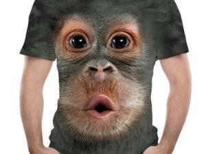 Father's Day Gift✨3D Printed Men's Animal Funny Orangutan T-Shirt