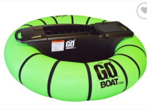 Bumper Boat | Portable Personal Watercraft(Including inflator, motor and assembly parts)