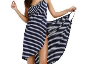 Striped Beach Towel Sundress