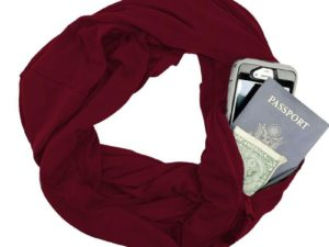 IScarf Multi-Way Infinity Scarf With Pocket