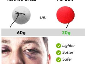 (LAST DAY PROMOTION - SAVE 50% OFF) Boxing Reflex Ball Headband - Buy 3 Get Extra 20% OFF