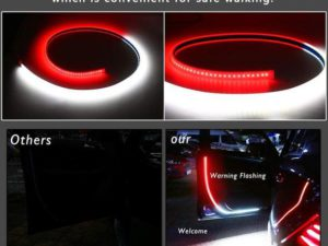 🔥Summer Promotion🔥Car Door Opening Warning LED Lights(Universal for all the cars)
