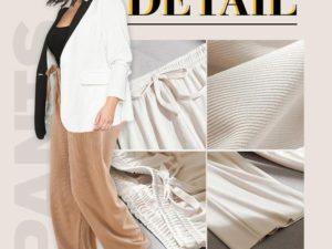 【Summer promotion-50% OFF】Ice Silk Wide Leg Pants Women