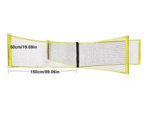 Summer Hot Sale 50% OFF - Portable Four Square Volleyball Net