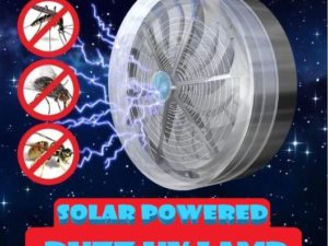 (SUMMER HOT SALE - SAVE 50% OFF) Solar Ultraviolet Mosquito Repellent Machine-Buy 2 Get Extra 10% OFF