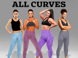 VicLeggings – High Waist Stretch Tummy Slimming Booty Lifting Solid Leggings