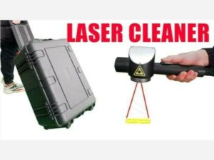 Mini 50W/100W Portable Fiber Laser Cleaner Rust Removal Laser Cleaning Machine