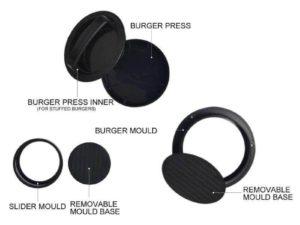 Stuffed grill Burger