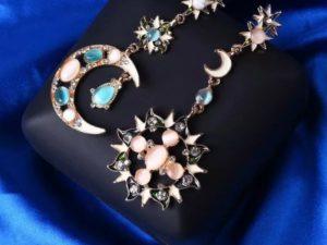 Jewelry-Stylish Trendy Star Sun Moon Rhinestone Crystal Stellar Dangle Earrings for Women Bohemian Jewelry