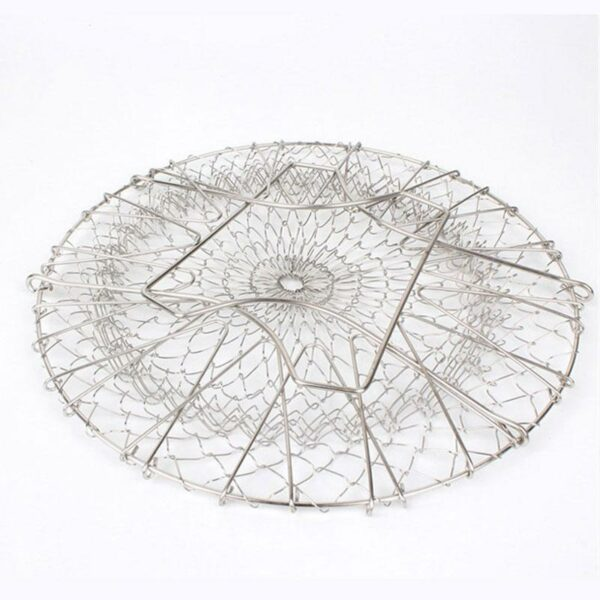 Magical Foldable Stainless Steel Kitchen Basket