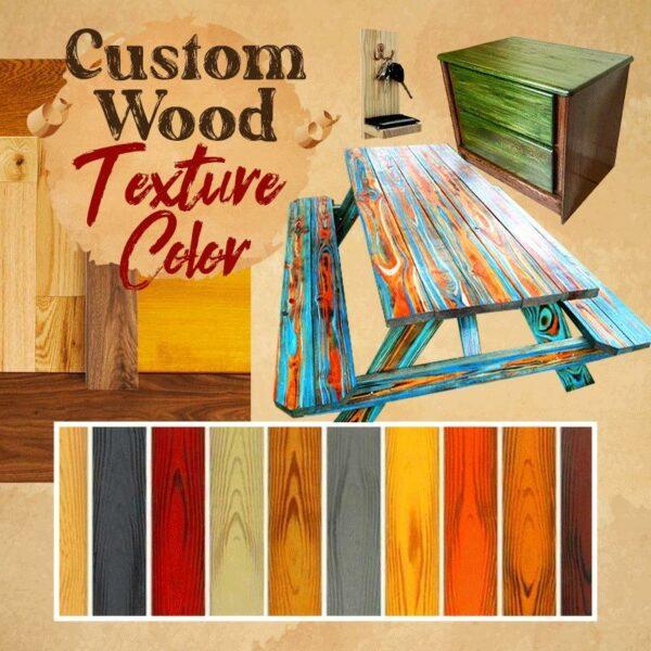 Wood Graining DIY Tool Set (Summer Sale Save $14)
